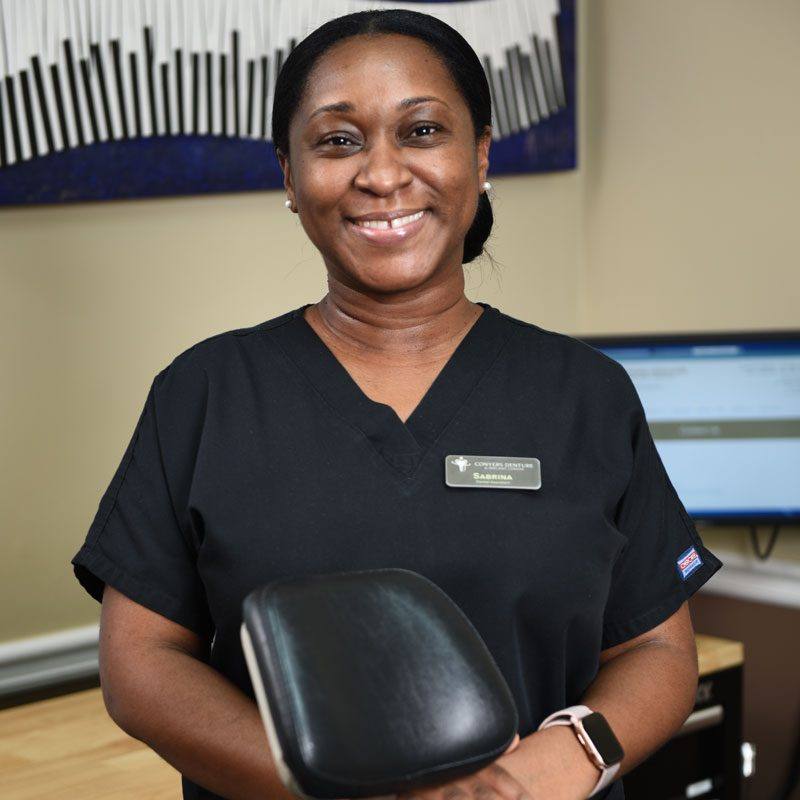 Conyers Denture & Implant Center Dental Assistant, Sabrina Campbell